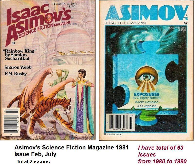 Image 2 of Isaac Asimov's Science Fiction Magazine July 1981