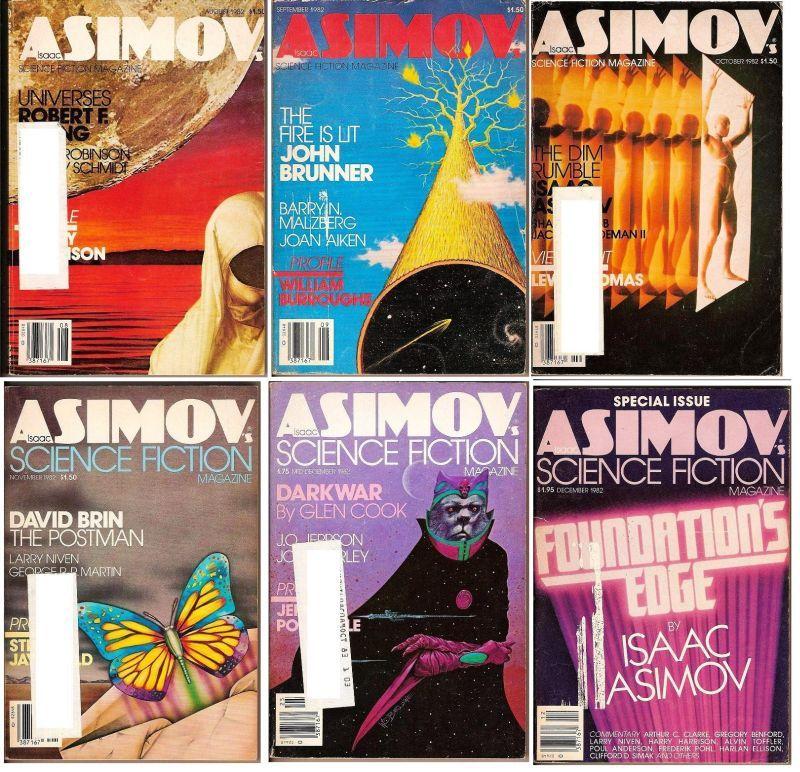 Image 3 of Isaac Asimov's Science Fiction Magazine November 1982