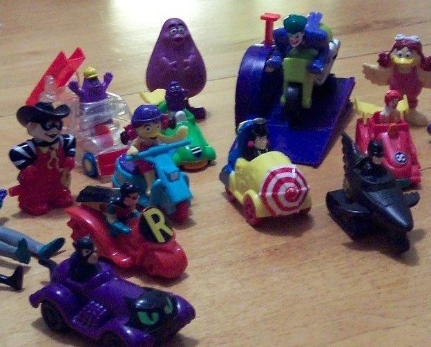 Lot of Vintage 1990's McDonald's Happy Meal Toys