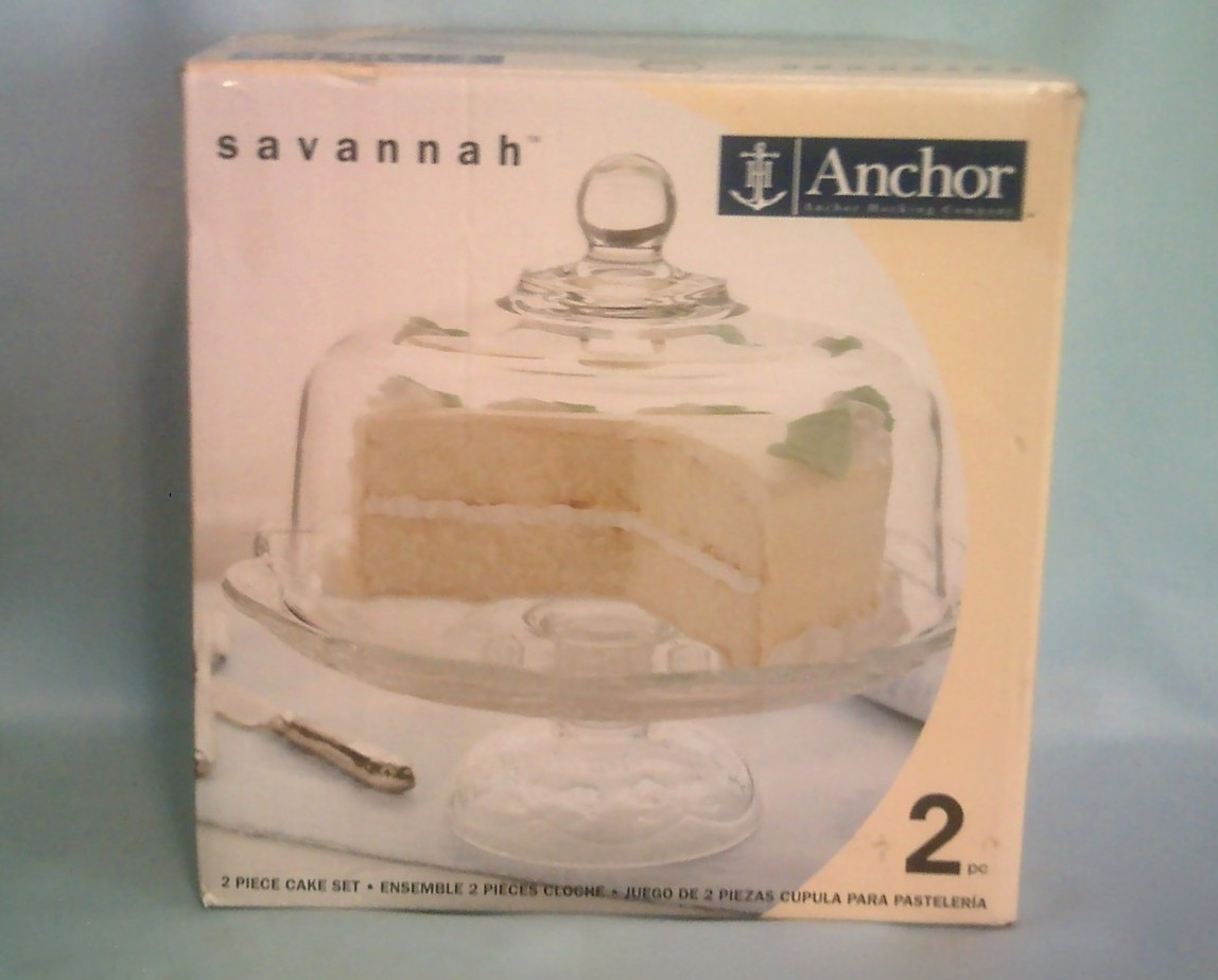 Anchor Hocking Savannah Cake Stand