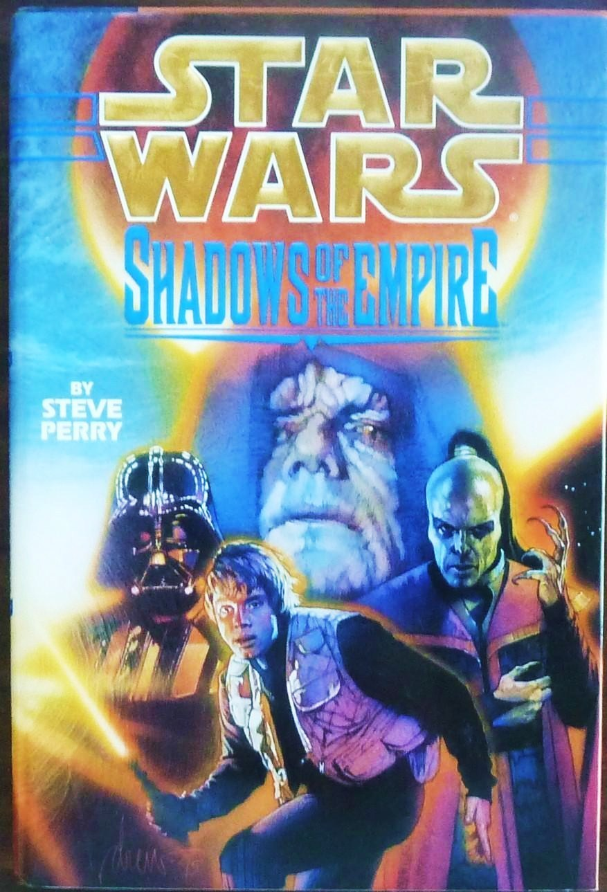 Image 0 of Star Wars Shadows of the Empire by Steve Perry HC 1st ed