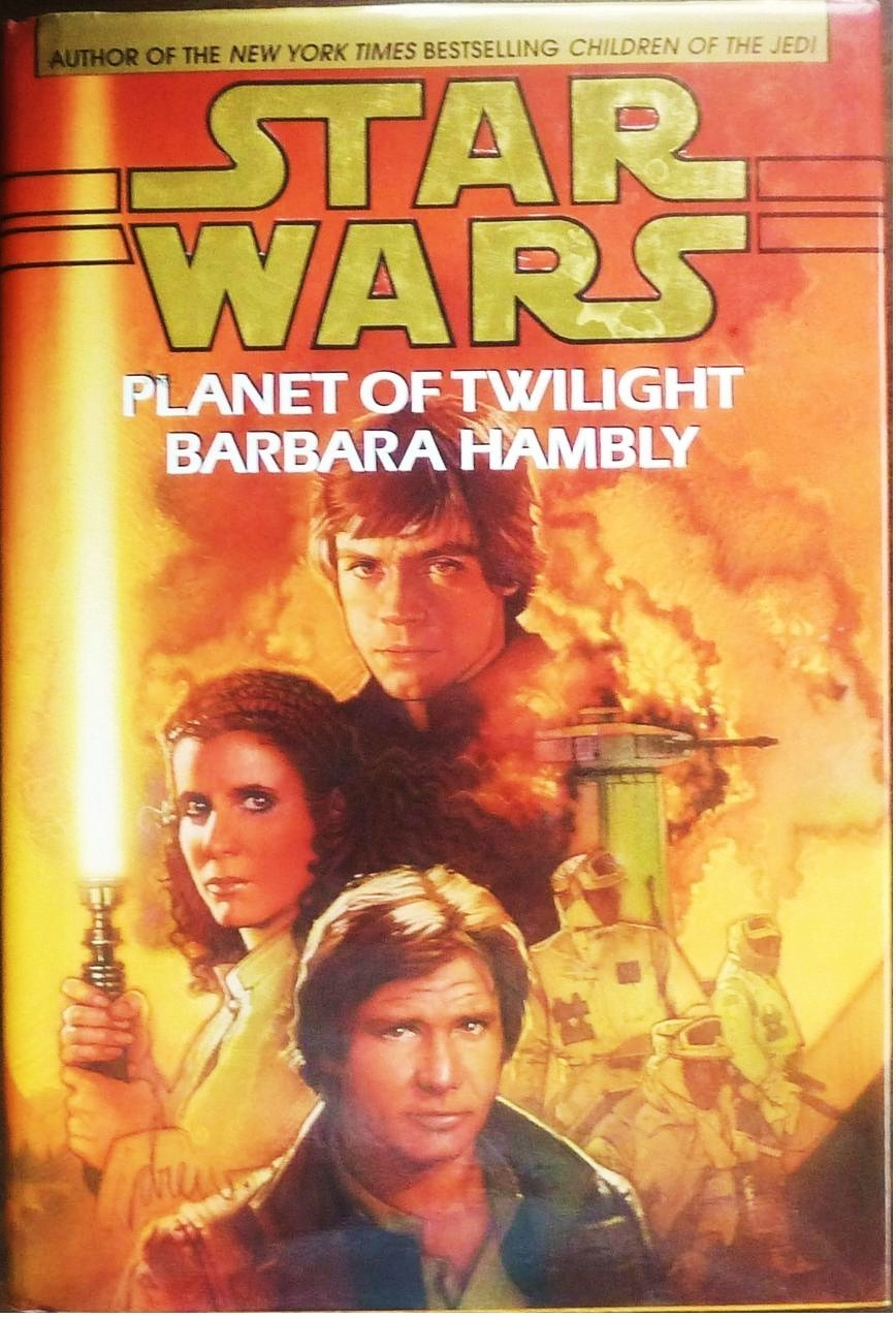 Image 0 of Star Wars Planet of Twilight by Barbara Hambly 1997 HC 1st ed