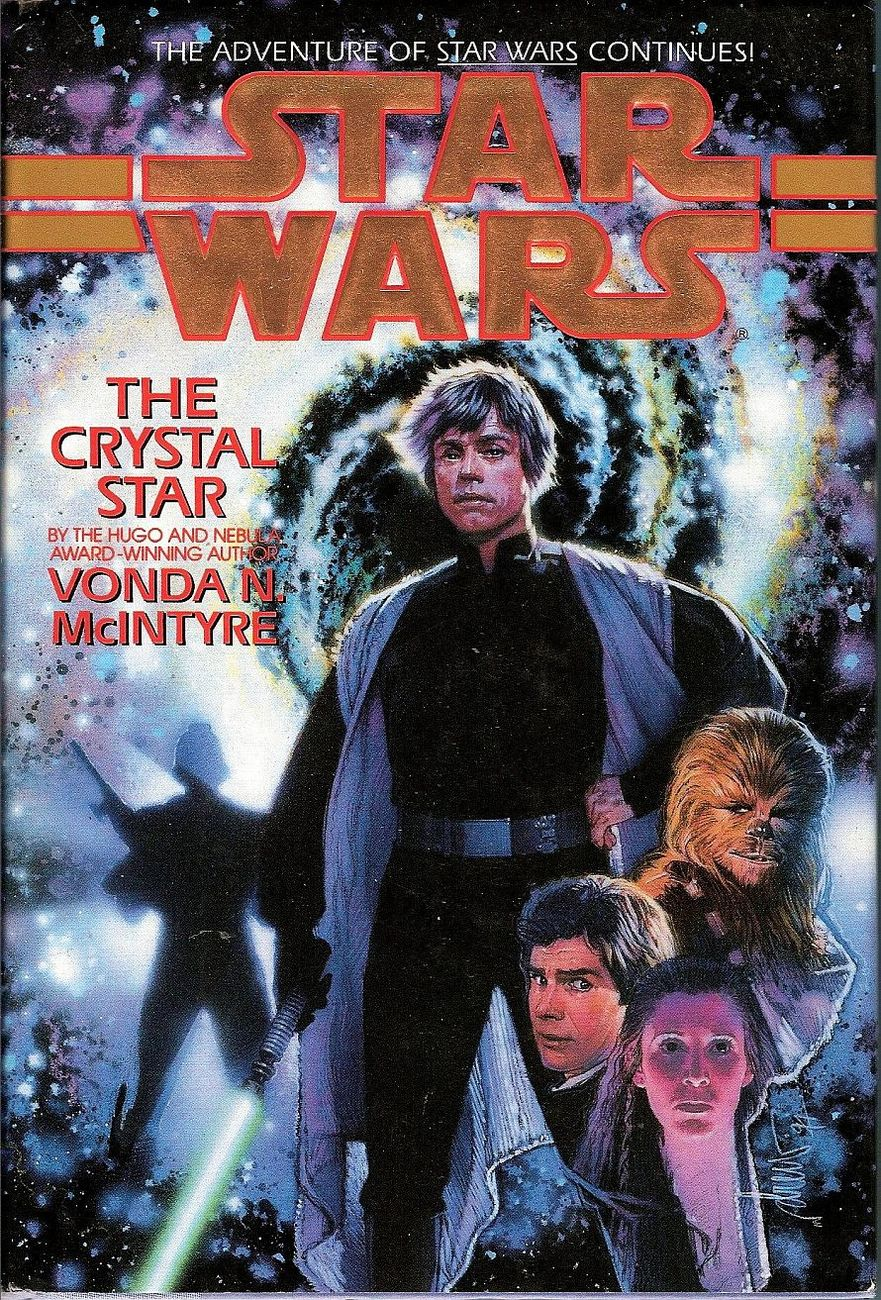 Star Wars The Crystal Star by Vonda N McIntyre 1sted HC DJ 1994