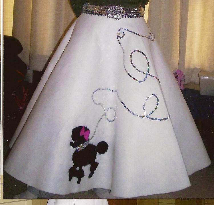 poodle skirt applique template - black fuzzy poodle w rhinestone collar and pink bow