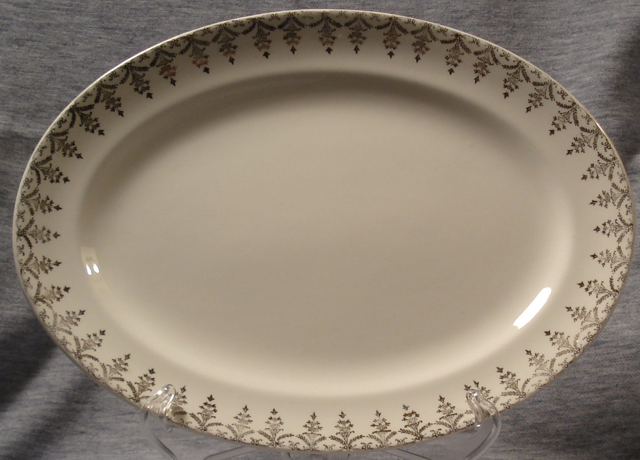 Heritage Ware Stetson Waverly Serving Platter Antique