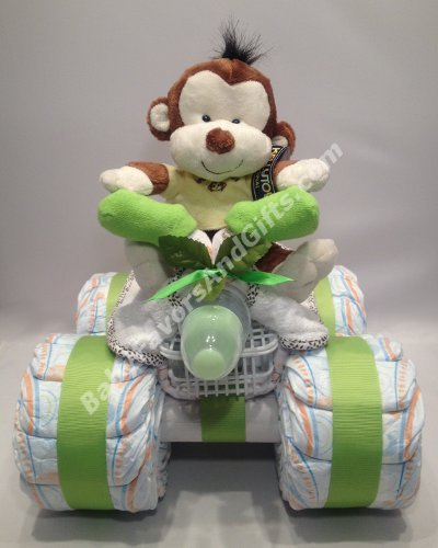 Instructions For A  Wheeler Diaper Cake