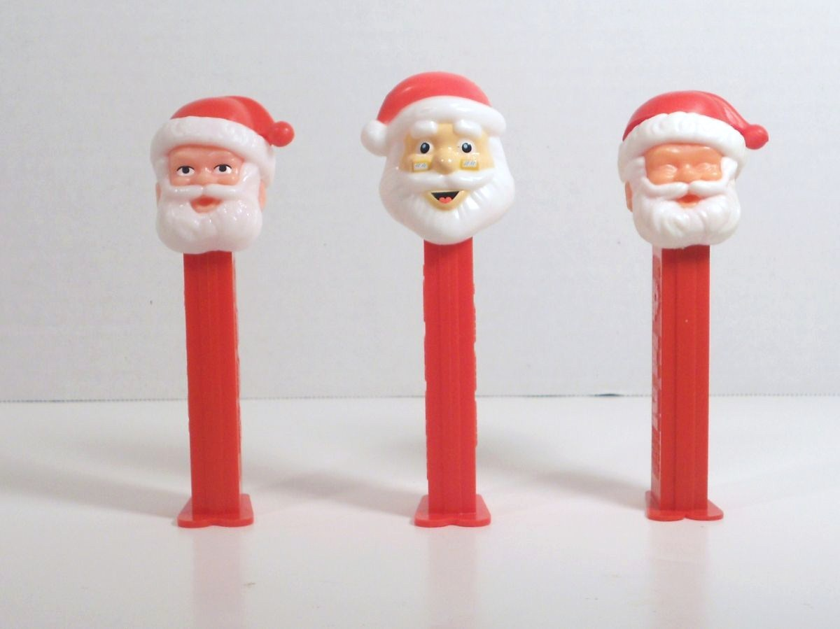 Image 5 of Santa C Pez thin, 3.9 closed eyes C open eyes, D glasses