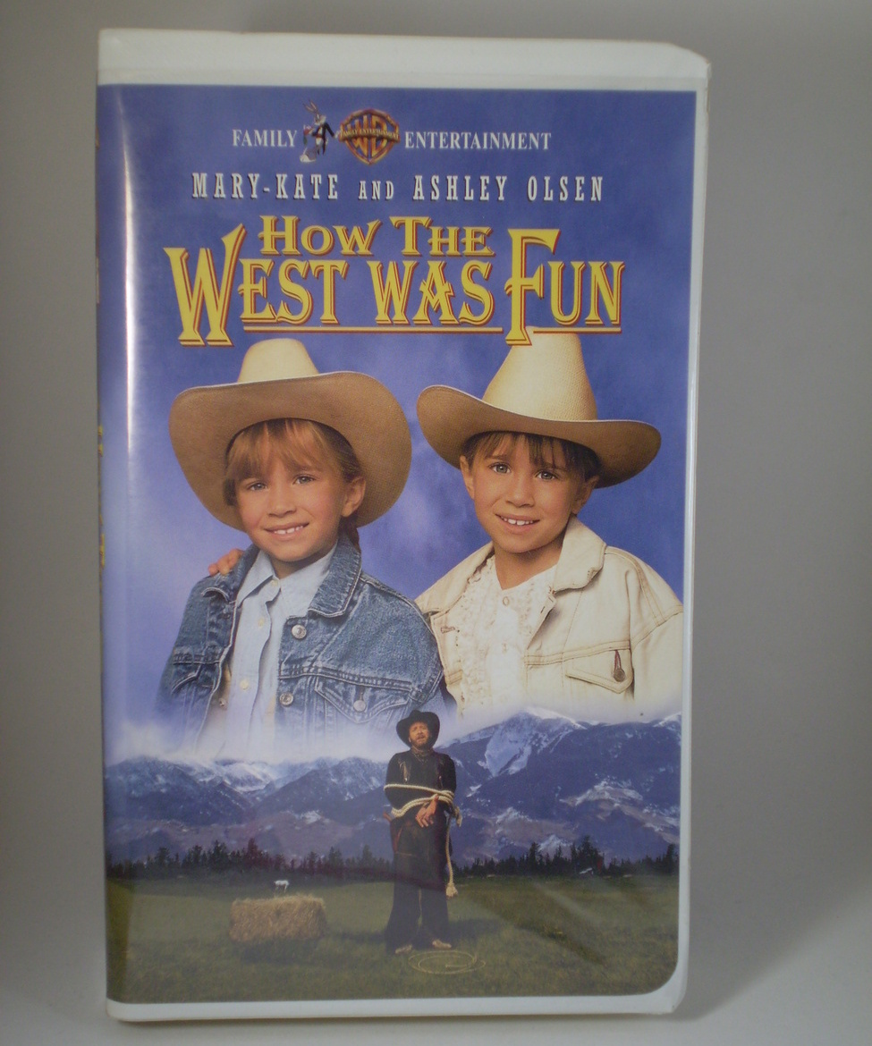 How The West Was Fun W/Mary-Kate And Ashley VHS