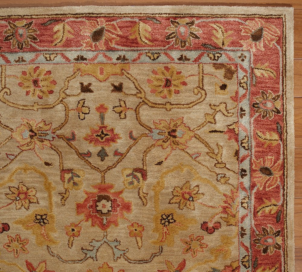 New Pottery Barn Handmade Persian Elham Area Rug 8x10