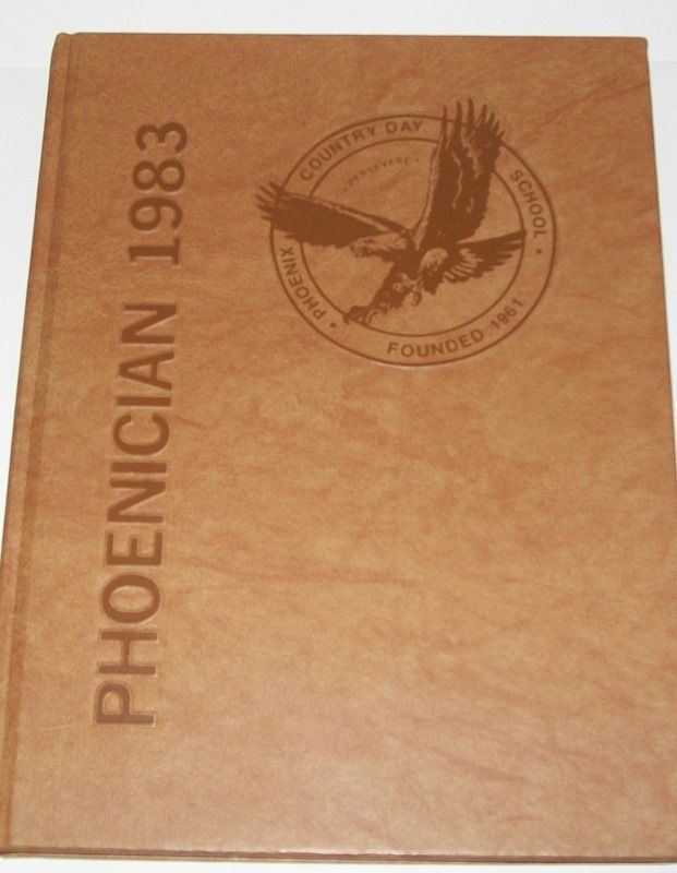 1983 PHOENIX, AZ COUNTRY DAY SCHOOL YEARBOOK~Private
