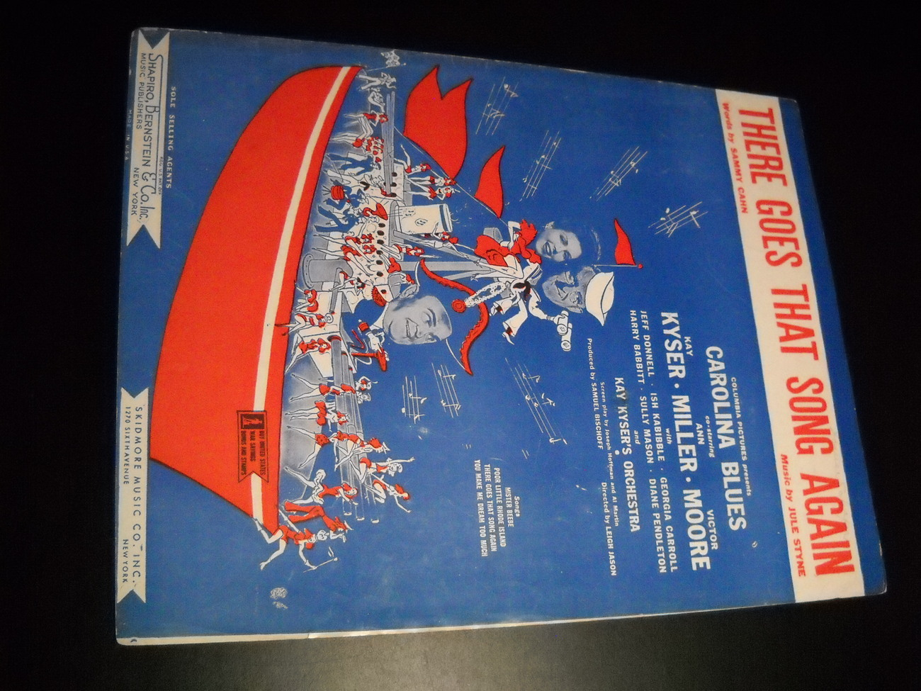 Sheet_music_there_goes_that_song_again_carolina_blues_kyser_miller_1944_skidmore_01