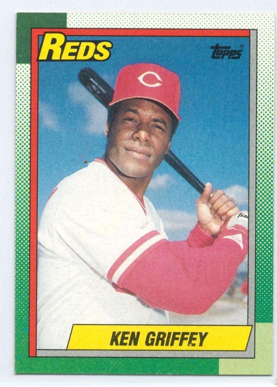 581 Ken Griffey Topps Baseball Card 1990 Baseball