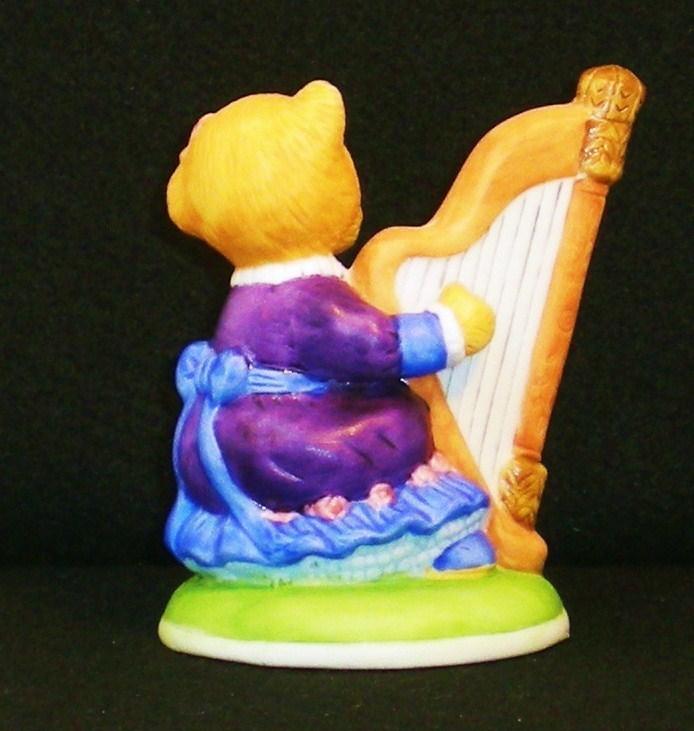 Image 3 of Hotel Teddington Honey Quaver porcelain bear figurine 1986
