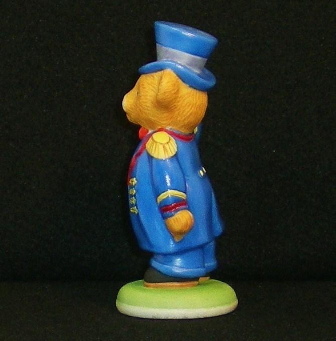 Image 2 of Hotel Teddington Porcelain bear Alfred the Doorman 1986
