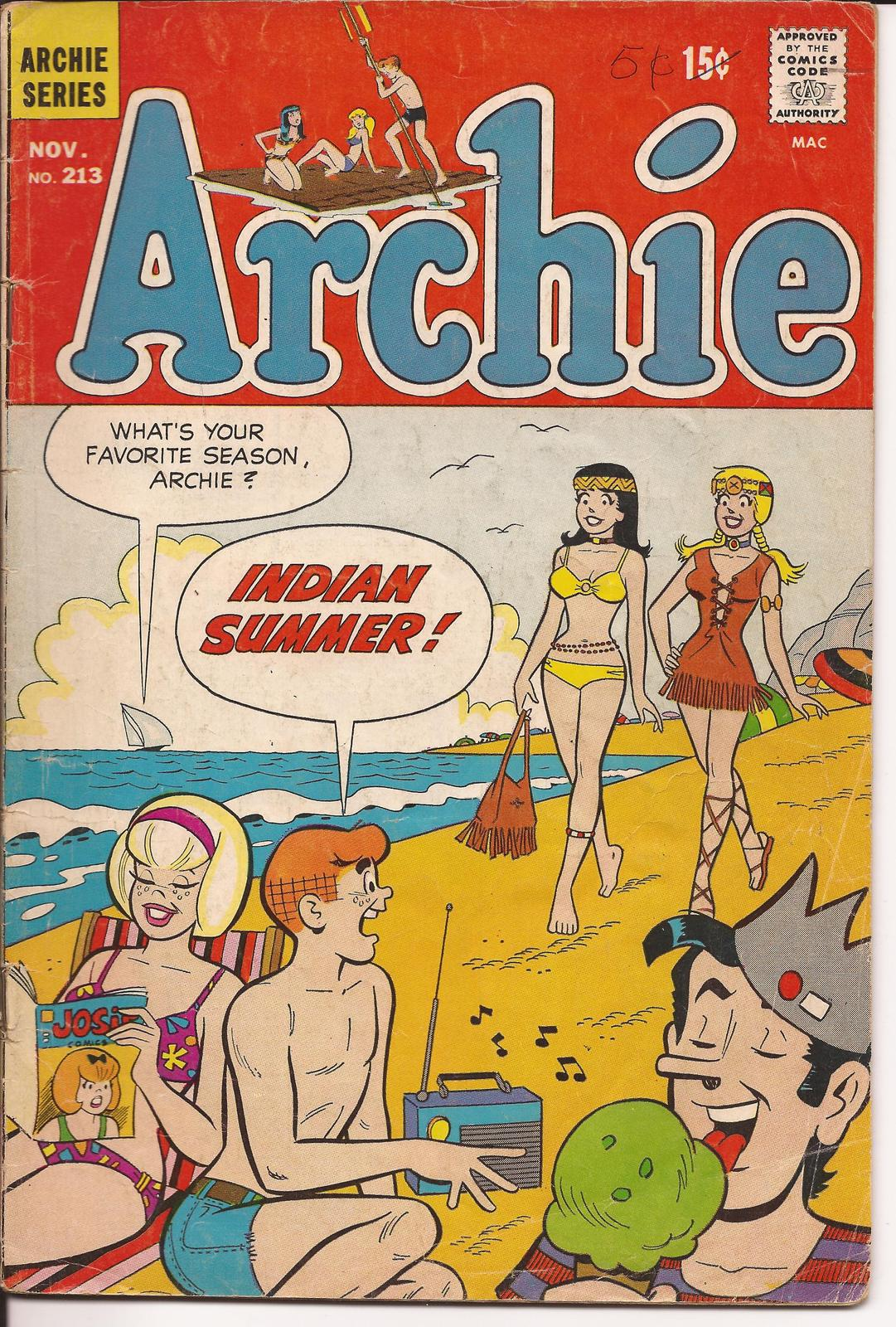 Reggie and Me #34 (Archie Series)