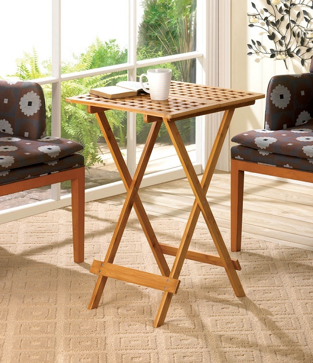 Folding eating tv tray table tables for Small eating table