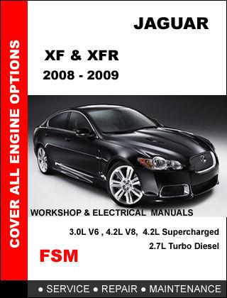 service manual 2009 jaguar xf dispatch workshop manuals. Black Bedroom Furniture Sets. Home Design Ideas