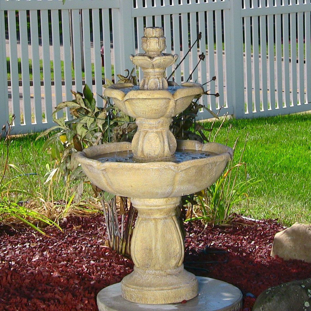 57 for Outdoor patio fountains