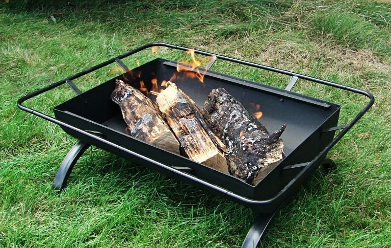 Small Portable Outdoor Fire Pit : Portable outdoor backyard patio fire pits firepits grill