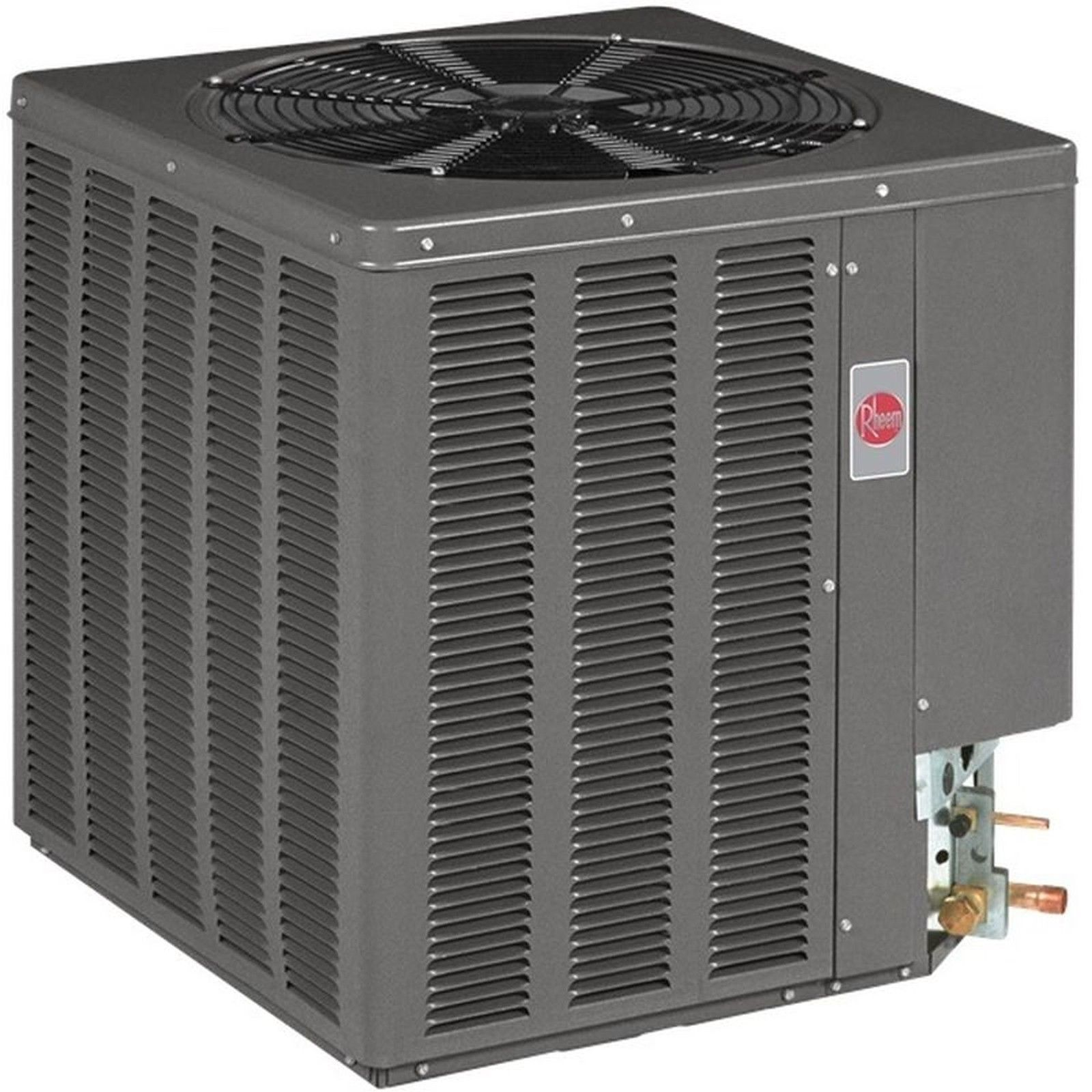 TON CENTRAL AIR CONDITIONING UNIT HEAT PUMP SYSTEM RHEEM 13JPL Air  #9C2F3A