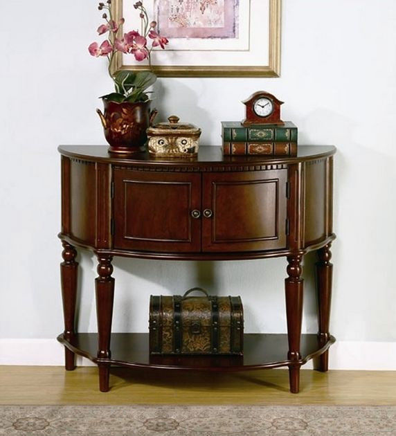 accent side table console hall foyer dining room server storage buffet