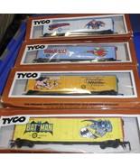 HO Trains  4- DC Super Heroes Box Cars-Superman... - $84.95