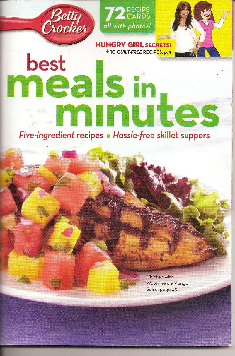 Betty Crocker Best Meals in Minutes Recipe Cards Cookbook 72 Cards No 261 2011