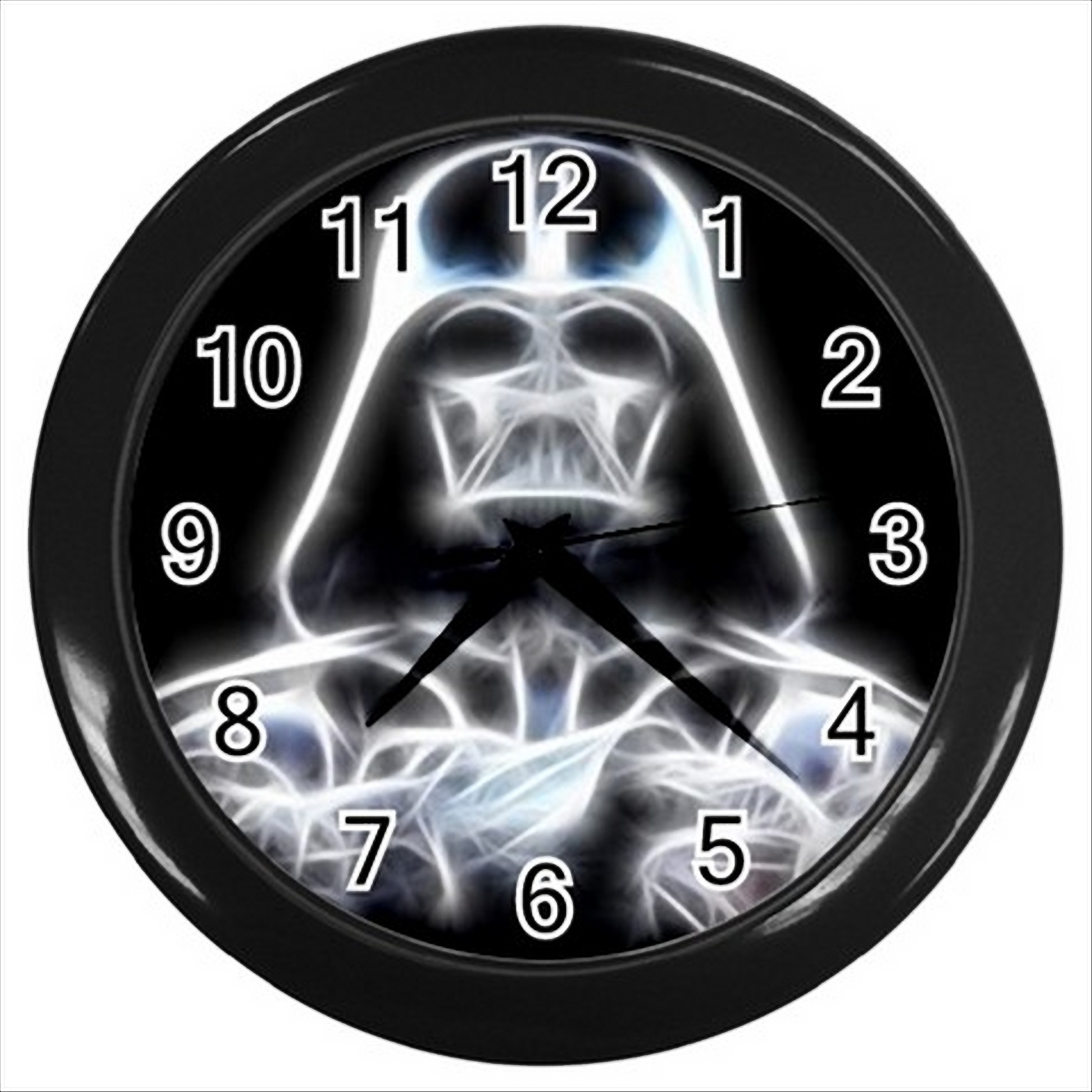 New Darth Vader Star Wars Round Black Wall Clock Decor