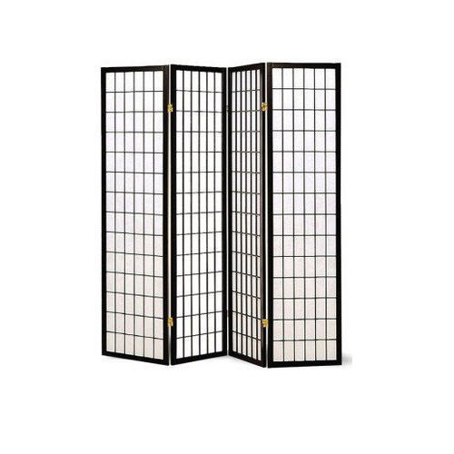 Screen room divider wall privacy tall panel dressing for Wall screen room divider