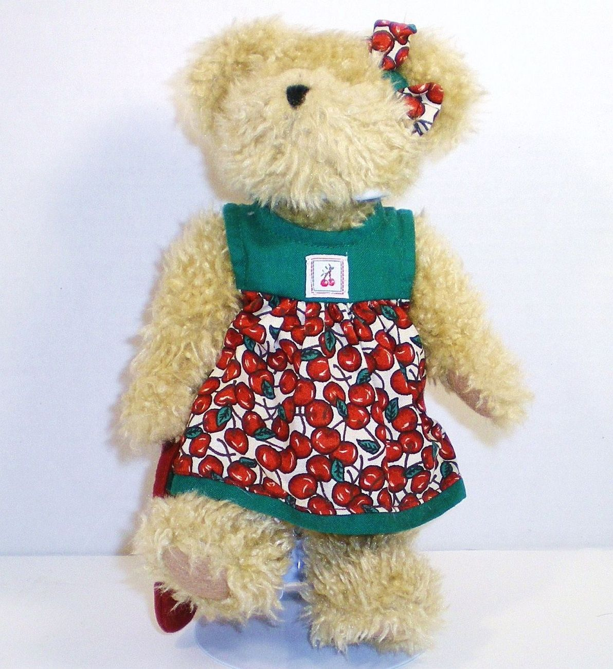 Image 0 of Boyds Bear Tia Cherrybeary 904093 Retired 2003 Cherry Jubilee Series