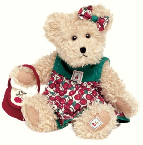 Image 5 of Boyds Bear Tia Cherrybeary 904093 Retired 2003 Cherry Jubilee Series