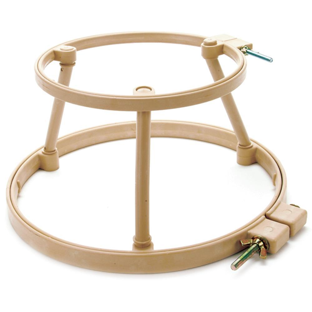 Morgan lap stand combo quot and hoops punch needle cross