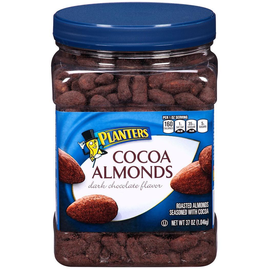 ... Cocoa Almonds Dark Chocolate Flavor in Jars 37 oz. each - Nuts & Seeds