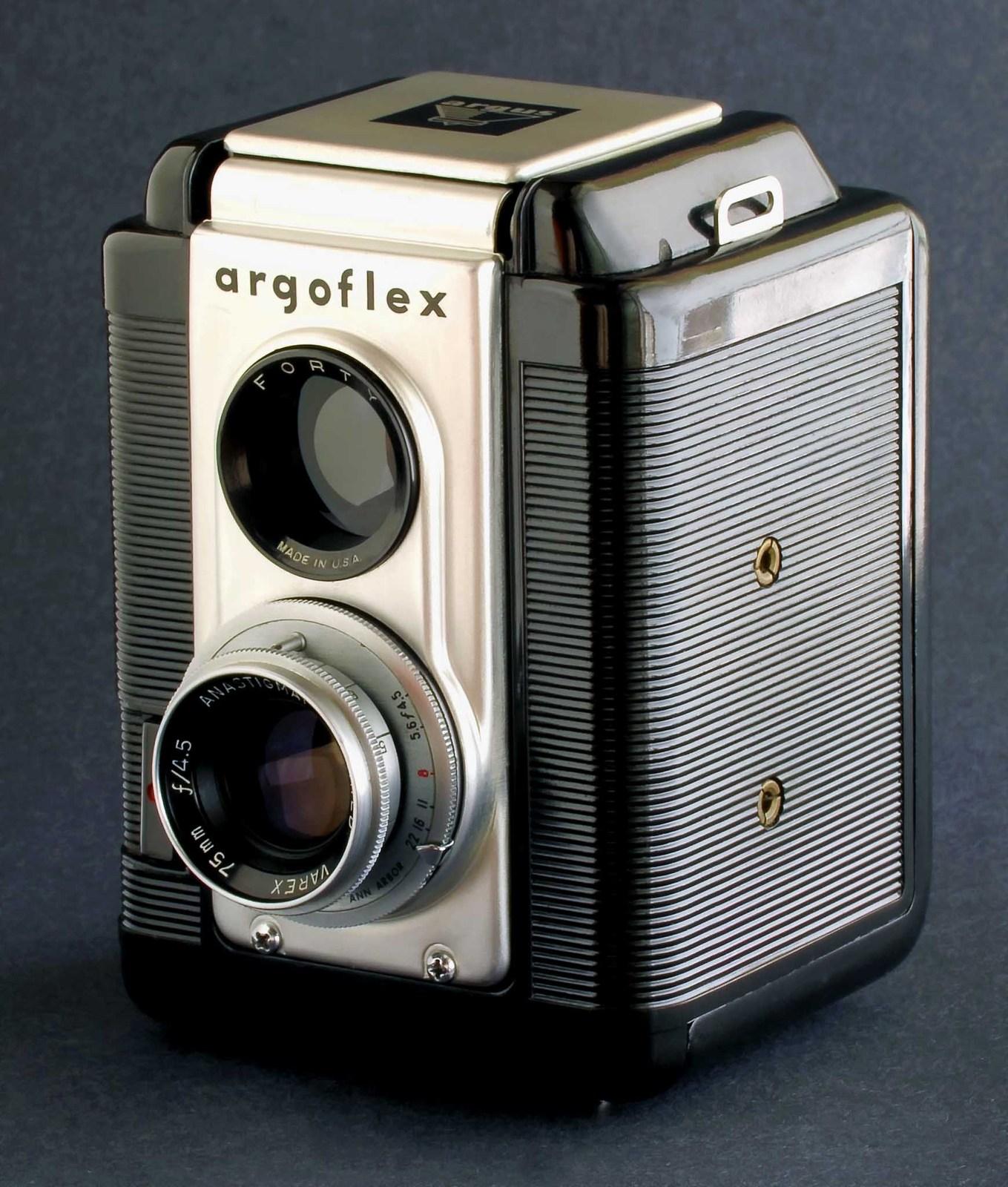 argus argoflex tlr w varex 75mm f 4 5 coated lens anastigmat minty film cameras. Black Bedroom Furniture Sets. Home Design Ideas