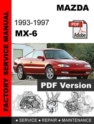1988 mazda mx 6 manual free download mazda 626 mx6. Black Bedroom Furniture Sets. Home Design Ideas