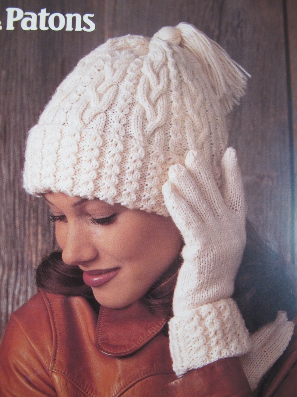 Knitting Pattern For Hat Scarf And Gloves : Patons Knitting Patterns Hats Scarves Mitts Gloves ADULTS Nordic Fair Isle Ar...