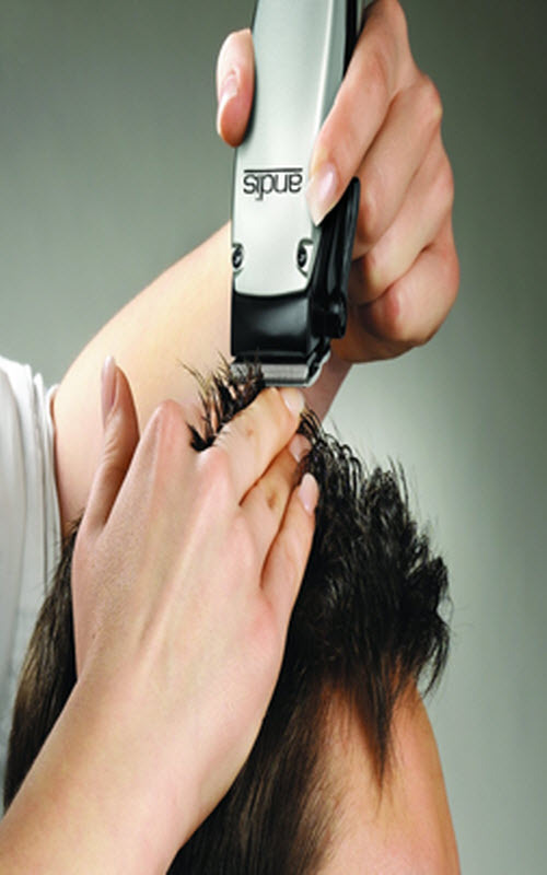how to cut black mens hair with clippers at home