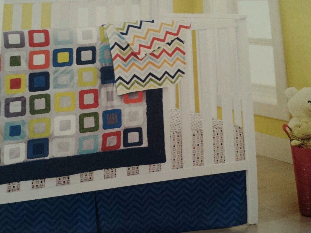 crib bedding sets primary colors  creative ideas of baby cribs - items similar to primary colors  custom crib bedding  elephant romp