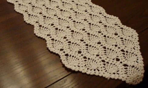 CROCHET SMALL TABLE RUNNER - Only New Crochet Patterns