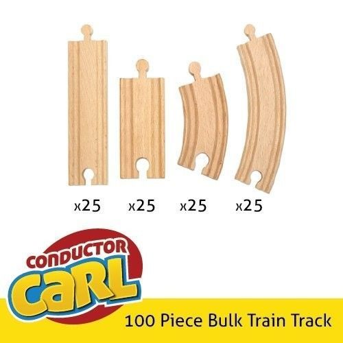 thomas the tank engine 100 piece wooden train track chugginton imaginarium brio trains vehicles. Black Bedroom Furniture Sets. Home Design Ideas