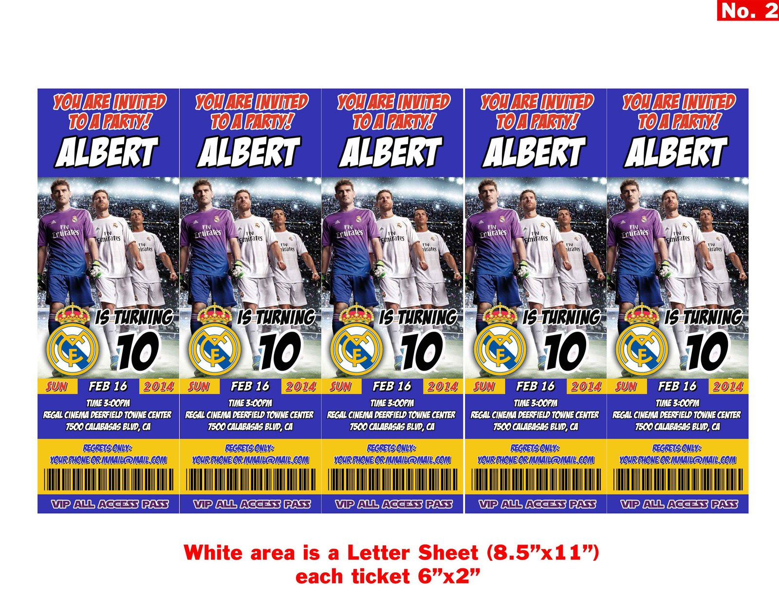 Real madrid tickets birthday invitations2 jpg