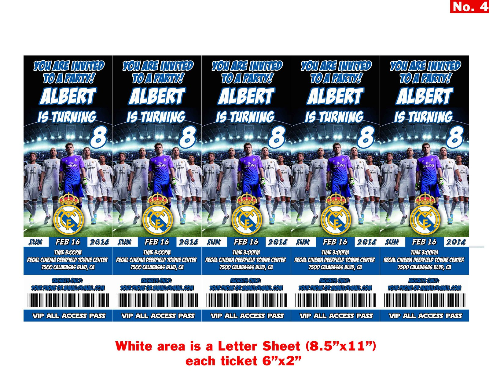 Real madrid tickets birthday invitations4 jpg