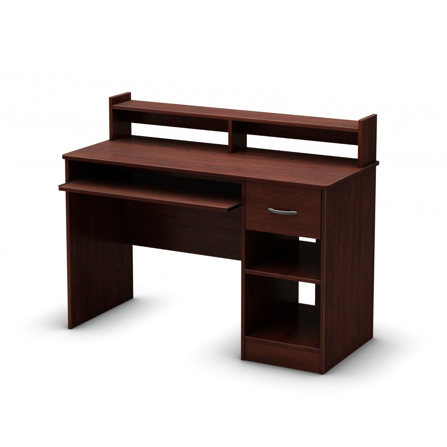 Small Desk with Keyboard Drawer 1500 x 1500