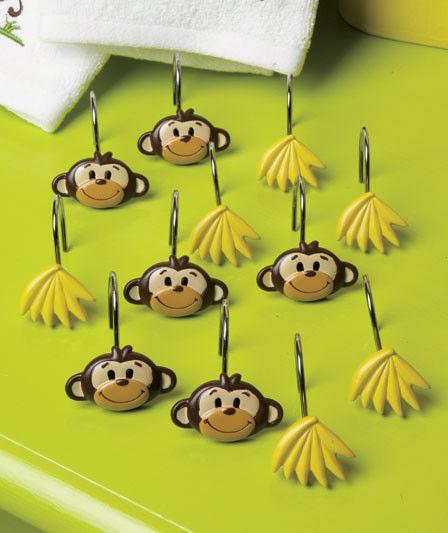 Monkey Bathroom Accessories Mainstays Monkey 4 Bath