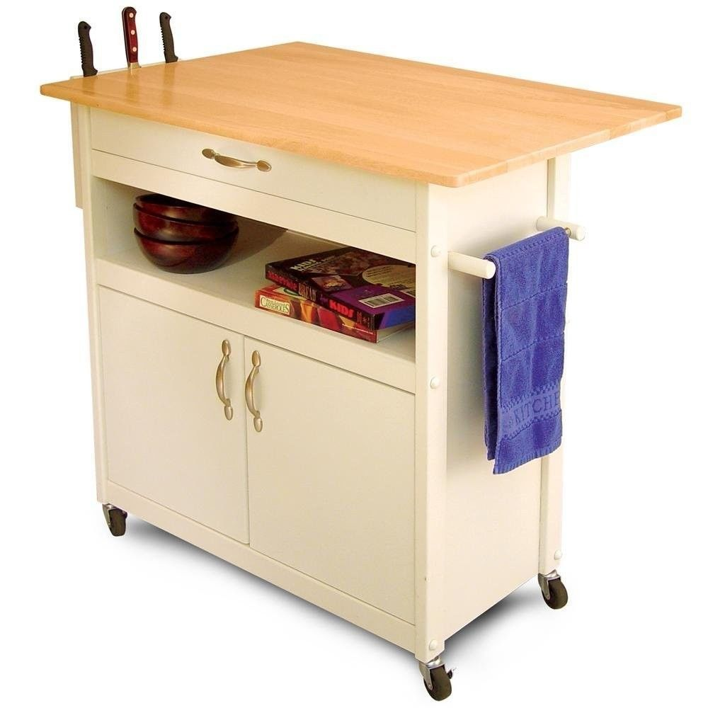 Winsome Wood Utility Cart Simple Do You Have Any Kind Of Wood Kitchen Carts Placed Inside Your