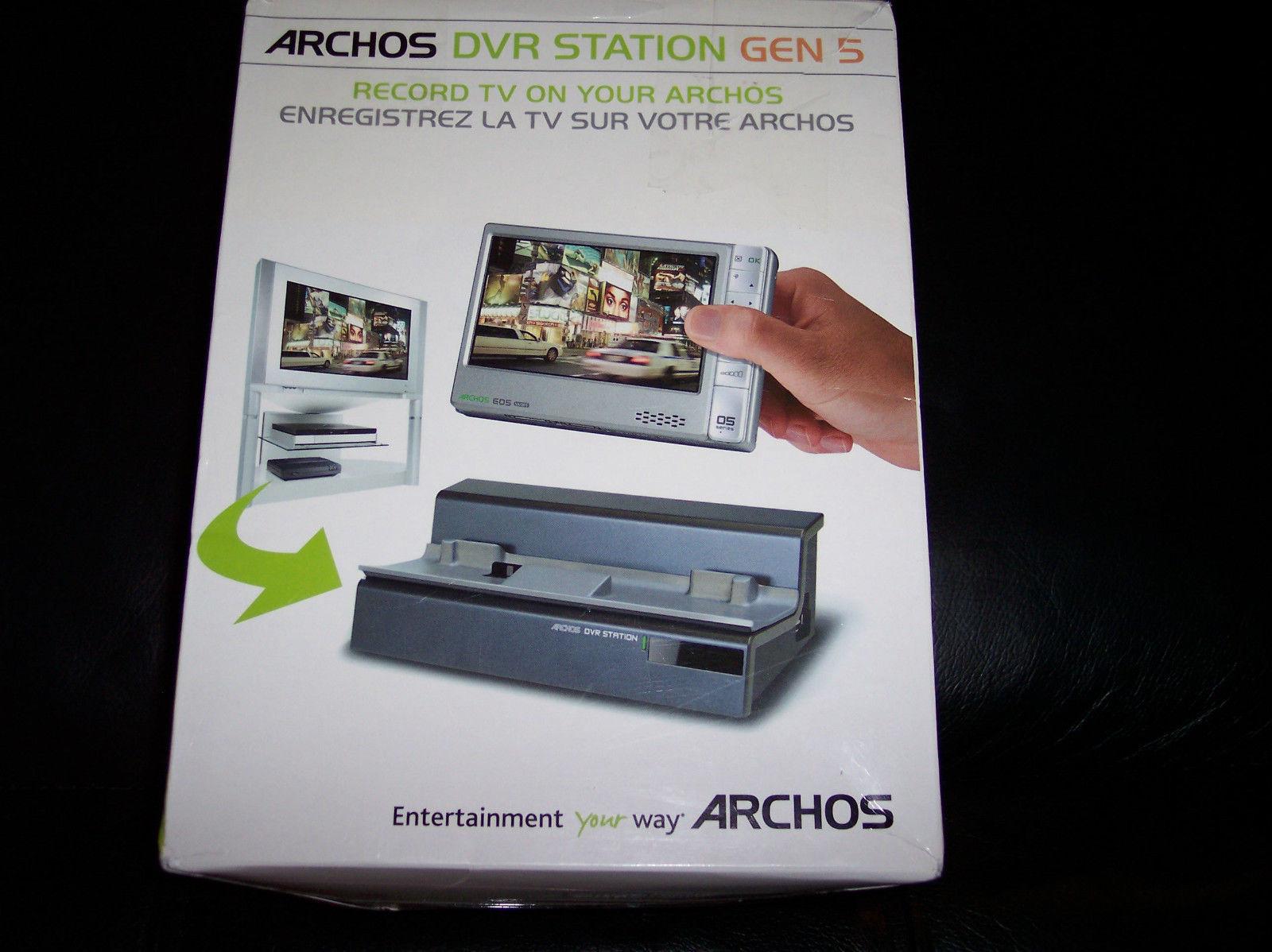 archos dvr station gen 5 for 405 605 705 media players. Black Bedroom Furniture Sets. Home Design Ideas