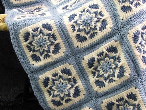 PDF Crochet Pattern AMAZING STAR AFGHANS Very Unique! 4 ...