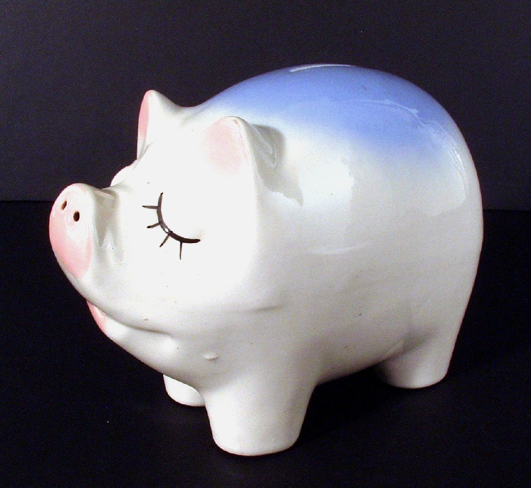 Snooty Piggy Bank 01