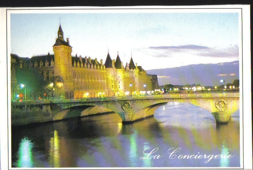 The Conciergerie, Paris, France Postcard