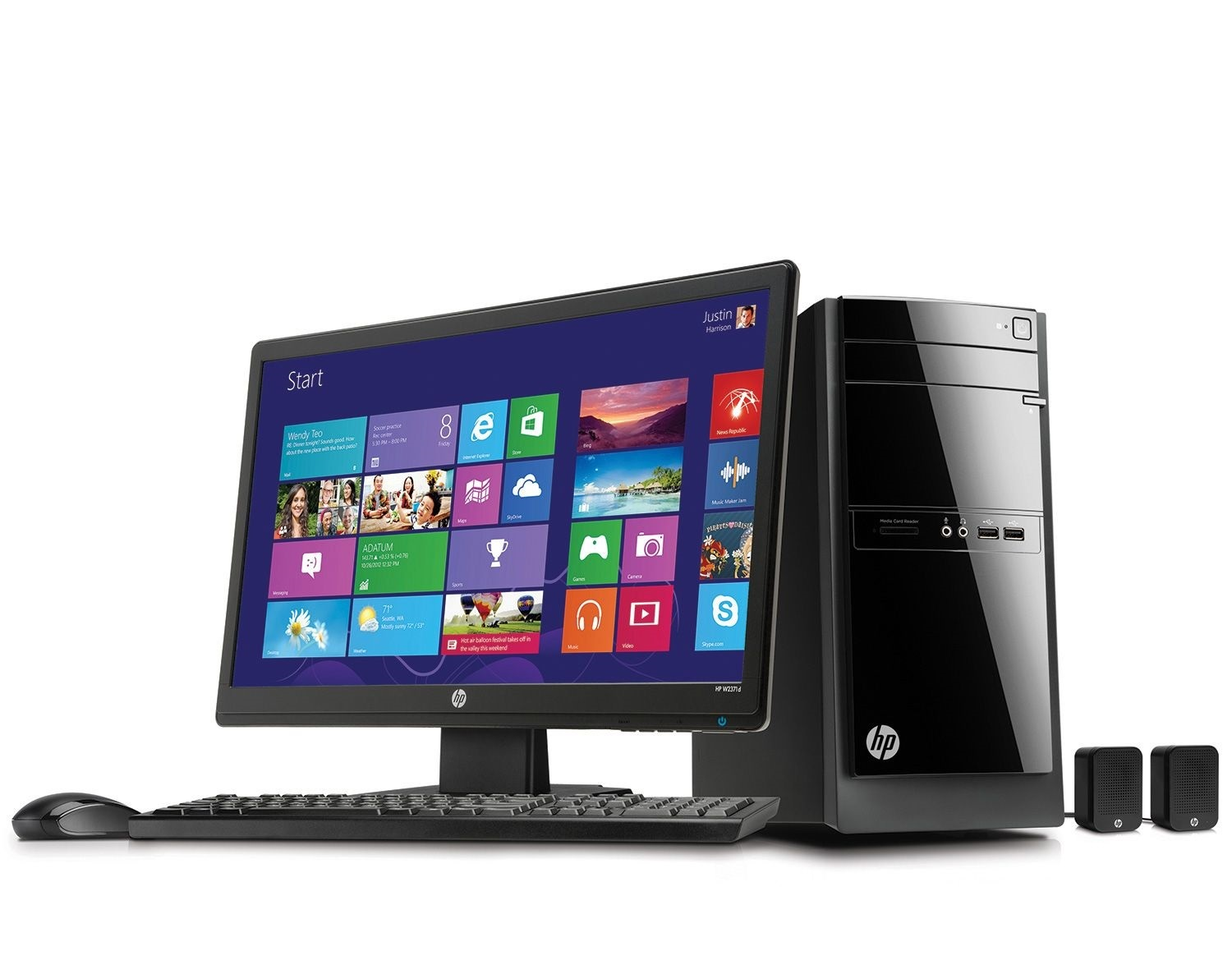 Shop Best Buy for a great selection of HP desktops, from basic towers to powerful PCs and sleek all-in-one computers.